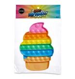 TOP TRENZ SQUARE  RAINBOW POP FIDGETY
