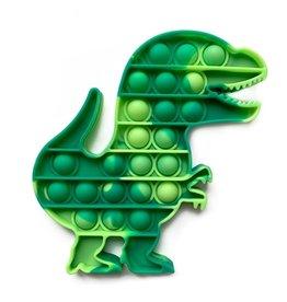 TOP TRENZ Pop Fidgety Tie-Dye Dino