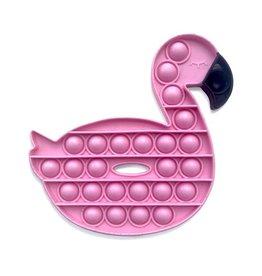 TOP TRENZ Pop Fidgety Flamingo
