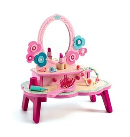 DJECO Role Play Flora Dressing Table