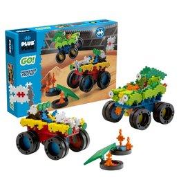 PLUS PLUS GO! Monster Trucks
