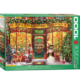EUROGRAPHICS The Christmas Shop by G.Walton 1000PC