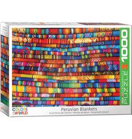 EUROGRAPHICS Peruvian Blankets 1000PC