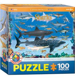 EUROGRAPHICS Sharks 100PC