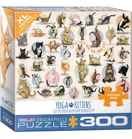 EUROGRAPHICS Yoga Kittens 300PC