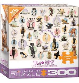 EUROGRAPHICS Yoga Puppies 300PC
