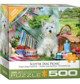 EUROGRAPHICS Scottie Dog Picnic 500PC