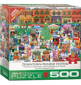 EUROGRAPHICS Downtown Holiday Festival 500PC