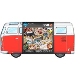 EUROGRAPHICS VW Bus Tin-Road Trips 550PC