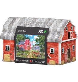 EUROGRAPHICS Family Farm Tin 550PC