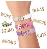 FASHION ANGELS Send A Message Bracelet Design Kit