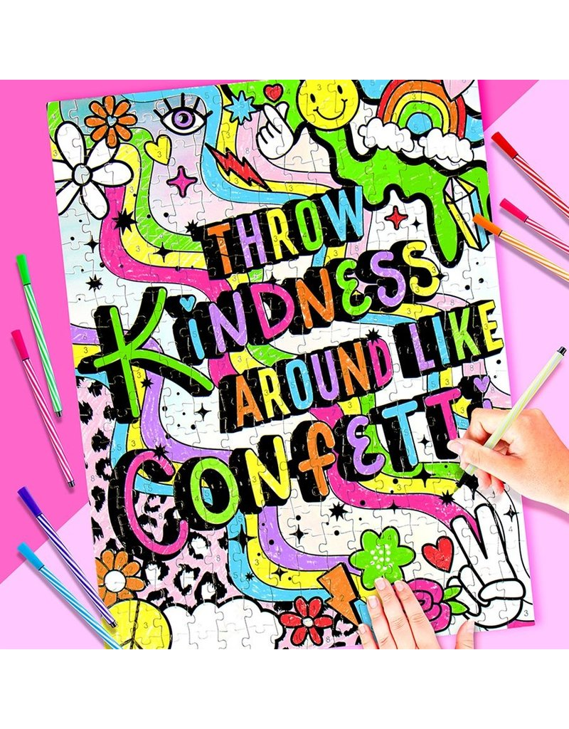 FASHION ANGELS Throw Kindness Like...DIY Color-By-Number