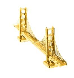 FASCINATIONS Golden Gate Bridge - Gold Version Metal Earth
