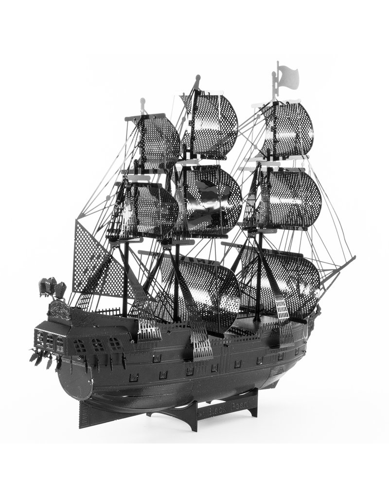 FASCINATIONS Black Pearl Ship-Black