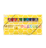 OOLY BEE CRAYONS 12PC