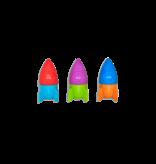 OOLY Blast Off Eraser & Pencil Sharpener - Tub of 30