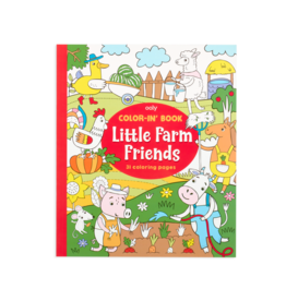 OOLY Colorin Book - Little Farm Animals
