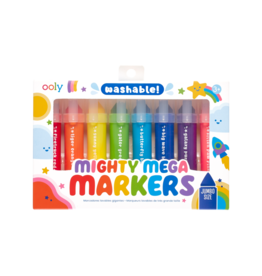 OOLY Mighty Mega Markers Set Of 8