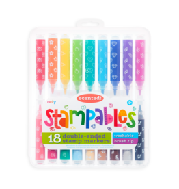 OOLY Stampables Double Ended Scented markers Set Of 18