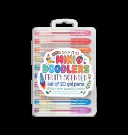 OOLY Mini Doodlers Fruity Scented Gel Pens Set of 20