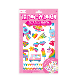 OOLY Temporary Tattoos - Over The Rainbow