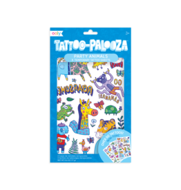 OOLY Temporary Tattoos - Party  Animals