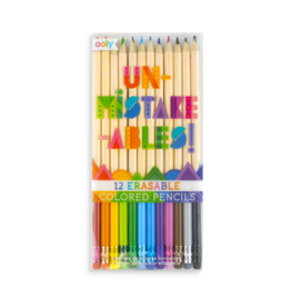 OOLY Unmistakeables Erasable Colored Pencils