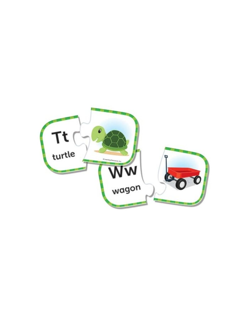 LEARNING RESOURCES ABC Puzzle Cards