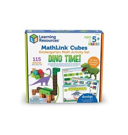 LEARNING RESOURCES Dino Time Mathlink Cubes
