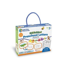 LEARNING RESOURCES Preschool Skill builder Set Letters & Sounds