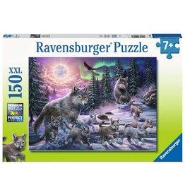 RAVENSBURGER Northern Wolves 150PC