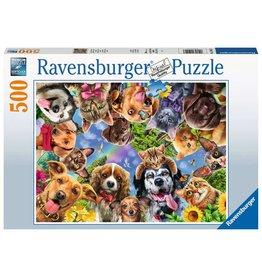 RAVENSBURGER ANIMAL SELFIE 500PC