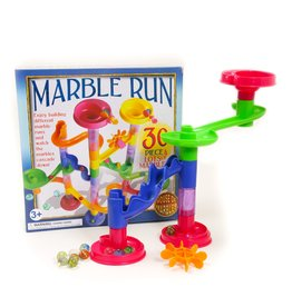 HOUSE OF MARBLES 30pc Marble Run