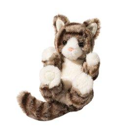 DOUGLAS CUDDLE TOYS Gray Stripe Kitten Lil' Handful