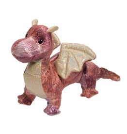 DOUGLAS CUDDLE TOYS Kayda Purple Dragon*