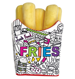 ISCREAM Fries Color Me Pillow