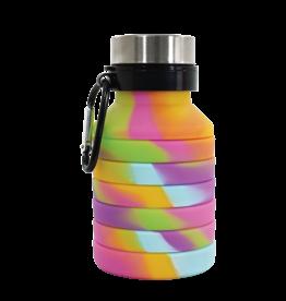 ISCREAM Tie Dye Collapsible Water Bottle