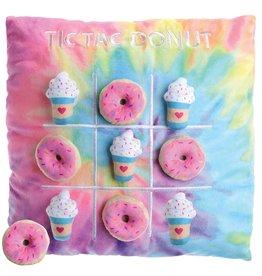 ISCREAM Tic-Tac Donut Pillow