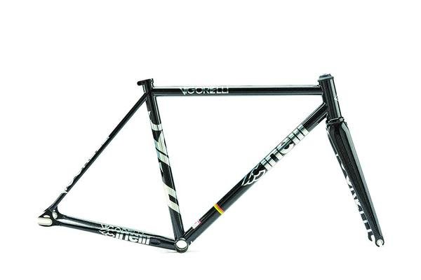 Cinelli Steel Vigorelli Track Frame Set Black Night