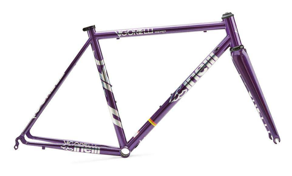 Cinelli Steel Vigorelli Road Frame Set Purple Heart
