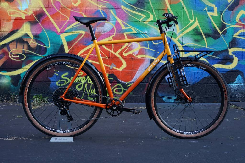 All-City Gorilla Monsoon Orange Fade