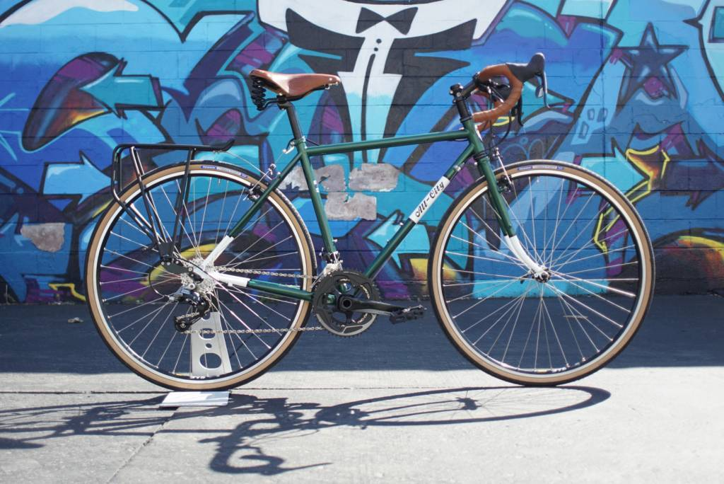 All-City Space Horse Racing Green