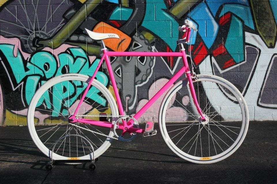 KHS Flite 100 Custom Pink