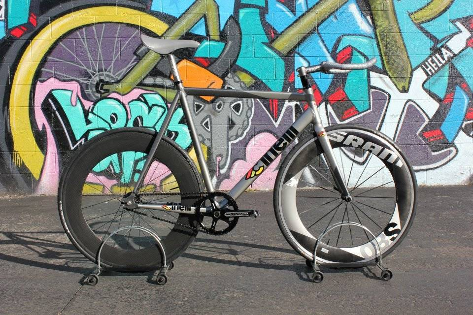 Cinelli Mash Bolt Grey