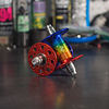 Phil Wood High Flange Track Hub Set Rainbow Anodized