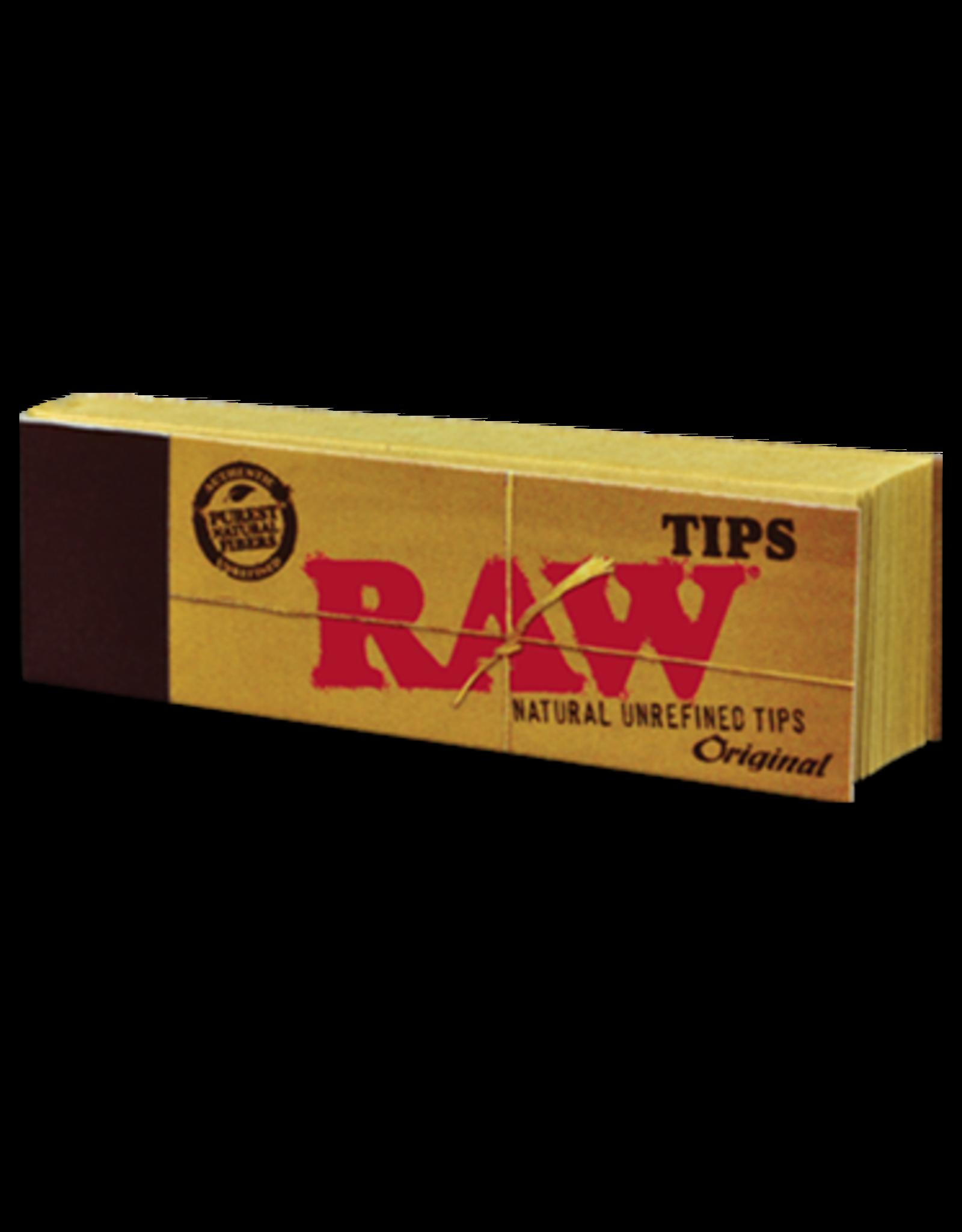 RAW RAW Natural Unrefined Original Tips