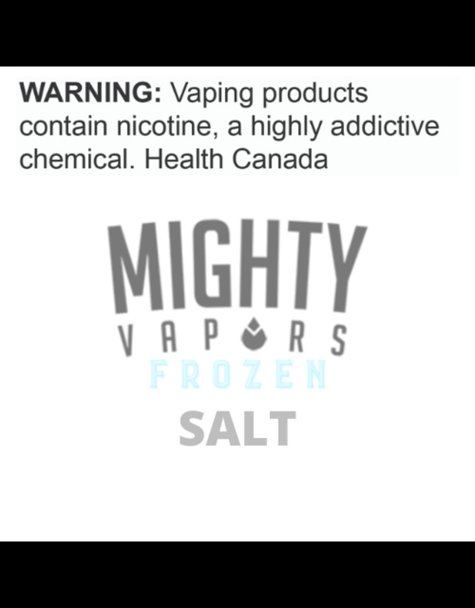 Mighty Vapors Mighty Vapors Frozen Salts