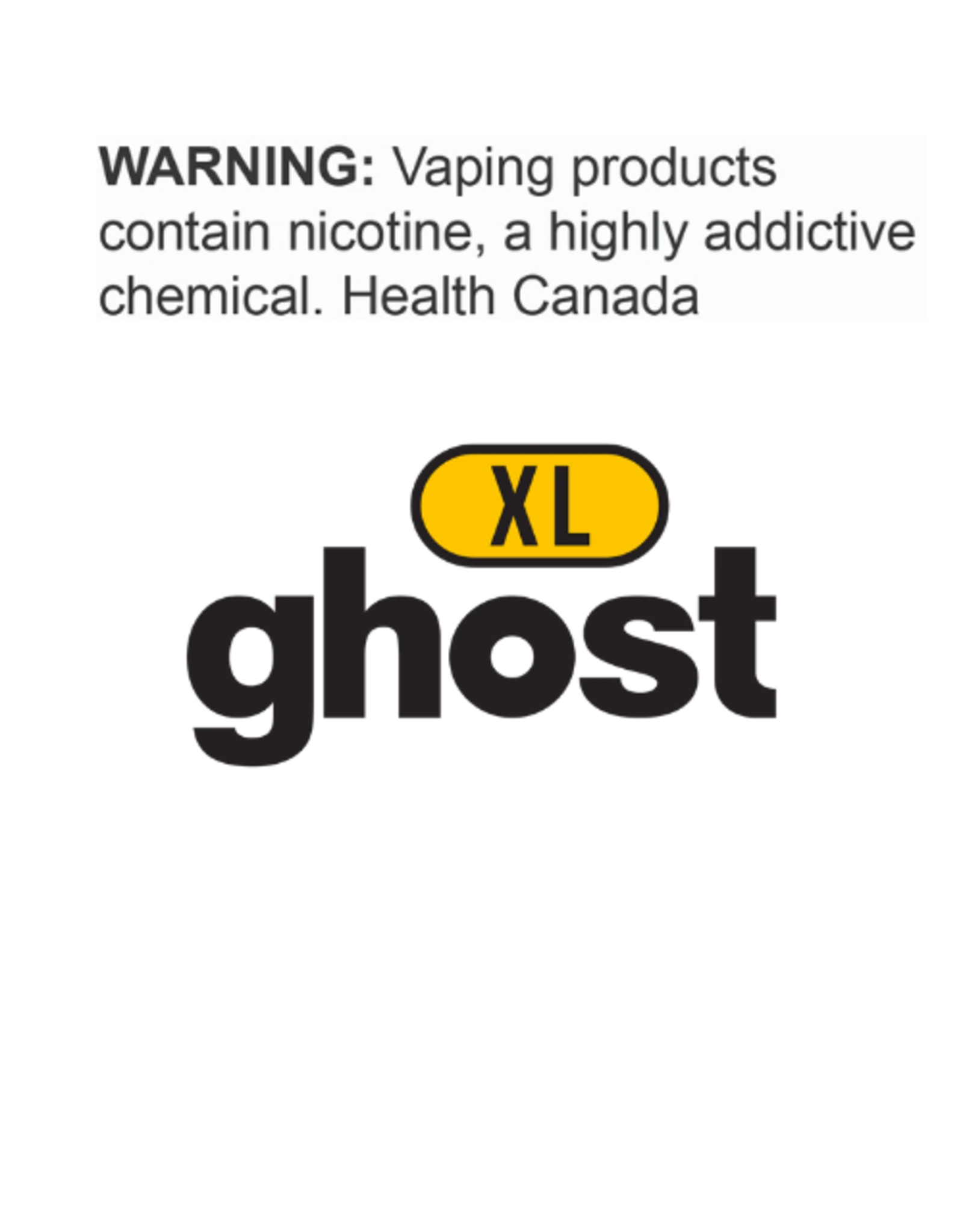 Ghost Ghost XL Disposable