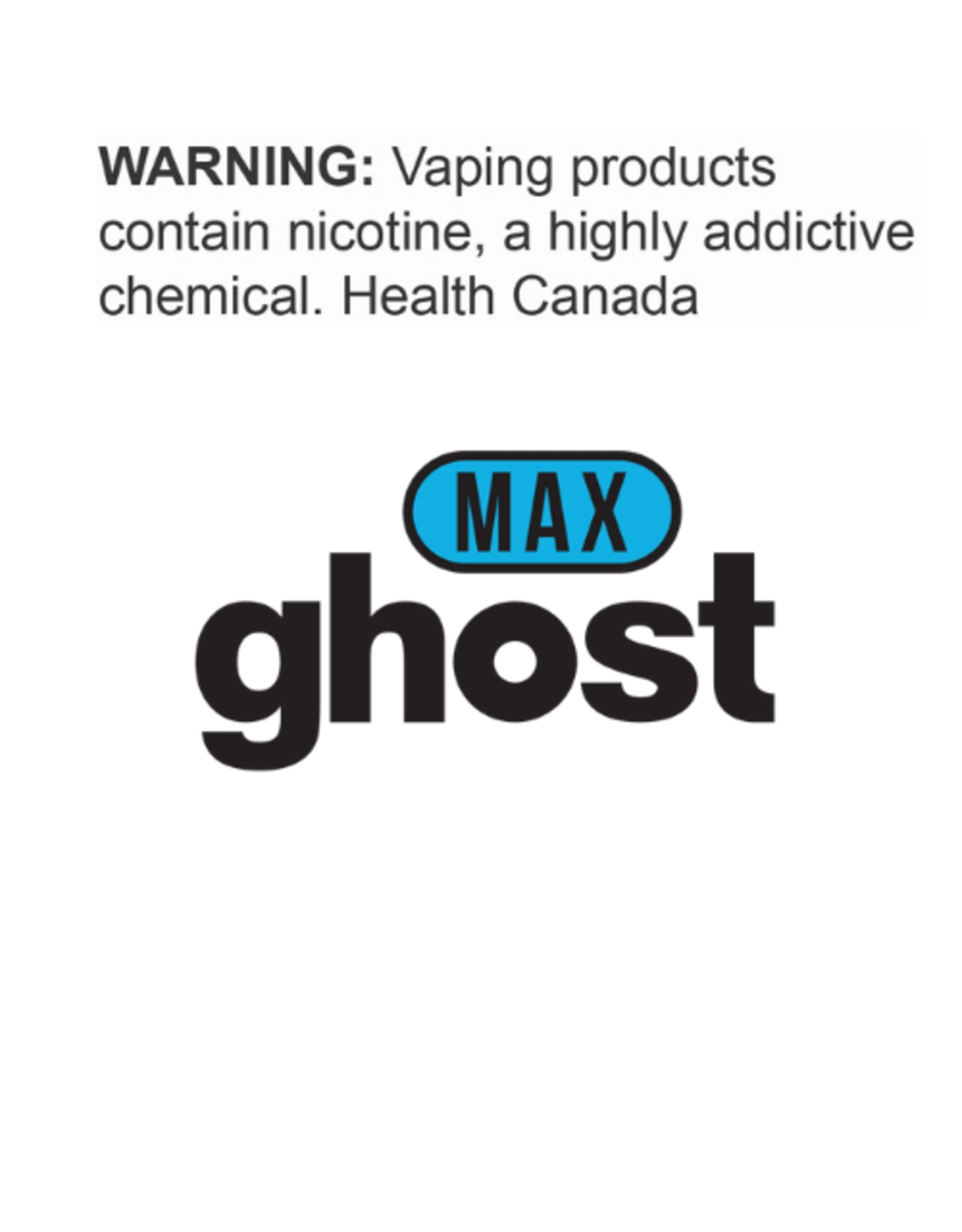 Ghost Ghost Max Disposable 2%