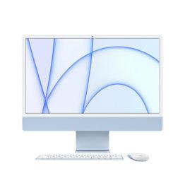 """iMac 24"""" 4.5K M1 8C CPU 7C GPU 8GB RAM 256GB SSD (2021) - Blue"""